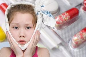 Паротит у детей: признаки и народное лечение